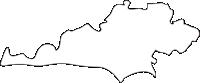 熊本県嘉島町(かしままち)の白地図無料ダウンロード
