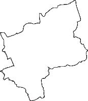 熊本県益城町(ましきまち)の白地図無料ダウンロード