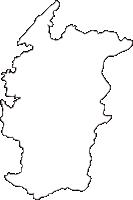 熊本県芦北町(あしきたまち)の白地図無料ダウンロード