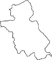 熊本県錦町(にしきまち)の白地図無料ダウンロード