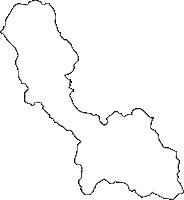 熊本県多良木町(たらぎまち)の白地図無料ダウンロード
