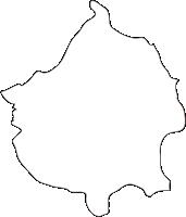 熊本県湯前町(ゆのまえまち)の白地図無料ダウンロード