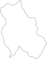 熊本県水上村(みずかみむら)の白地図無料ダウンロード