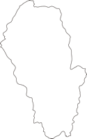 熊本県山江村(やまえむら)の白地図無料ダウンロード