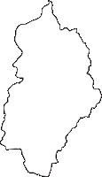 熊本県球磨村(くまむら)の白地図無料ダウンロード
