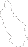 熊本県あさぎり町(あさぎりちょう)の白地図無料ダウンロード