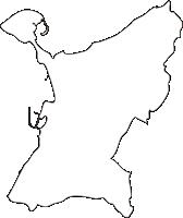 熊本県苓北町(れいほくまち)の白地図無料ダウンロード