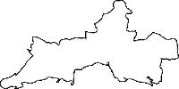 大分県日出町(ひじまち)の白地図無料ダウンロード
