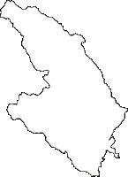 宮崎県西都市(さいとし)の白地図無料ダウンロード