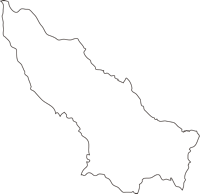 宮崎県国富町(くにとみちょう)の白地図無料ダウンロード
