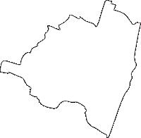 宮崎県高鍋町(たかなべちょう)の白地図無料ダウンロード