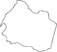 宮崎県新富町(しんとみちょう)の白地図無料ダウンロード