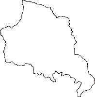 宮崎県諸塚村(もろつかそん)の白地図無料ダウンロード