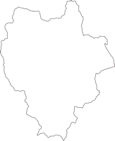 宮崎県椎葉村(しいばそん)の白地図無料ダウンロード