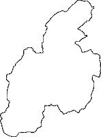 宮崎県五ヶ瀬町(ごかせちょう)の白地図無料ダウンロード