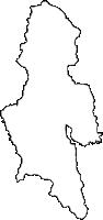 鹿児島県鹿屋市(かのやし)の白地図無料ダウンロード