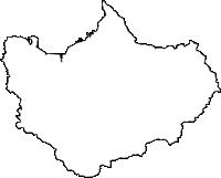 鹿児島県出水市(いずみし)の白地図無料ダウンロード