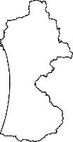 鹿児島県日置市(ひおきし)の白地図無料ダウンロード