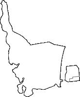 鹿児島県東串良町(ひがしくしらちょう)の白地図無料ダウンロード