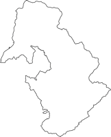 鹿児島県錦江町(きんこうちょう)の白地図無料ダウンロード