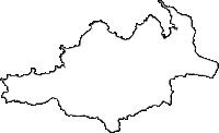 鹿児島県大和村(やまとそん)の白地図無料ダウンロード