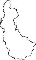 鹿児島県天城町(あまぎちょう)の白地図無料ダウンロード