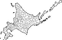 北海道(ほっかいどう)の白地図無料ダウンロード