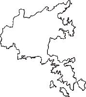 宮城県石巻市(いしのまきし)の白地図無料ダウンロード