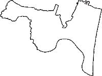 宮城県岩沼市(いわぬまし)の白地図無料ダウンロード