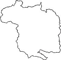 宮城県伊具郡丸森町(まるもりまち)の白地図無料ダウンロード