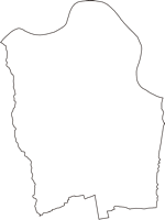 宮城県亘理郡亘理町(わたりちょう)の白地図無料ダウンロード