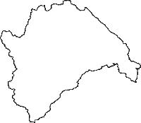 宮城県加美郡加美町(かみまち)の白地図無料ダウンロード
