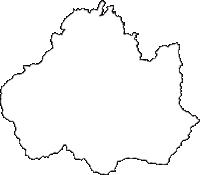 山形県米沢市(よねざわし)の白地図無料ダウンロード