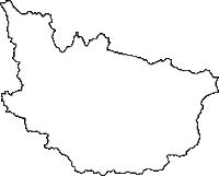 山形県上山市(かみのやまし)の白地図無料ダウンロード