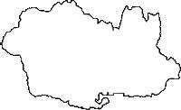 山形県村山市(むらやまし)の白地図無料ダウンロード