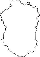 山形県最上郡戸沢村(とざわむら)の白地図無料ダウンロード