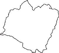 山形県西置賜郡白鷹町(しらたかまち)の白地図無料ダウンロード
