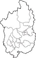 滋賀県(しがけん)の白地図無料ダウンロード