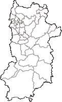 奈良県(ならけん)の白地図無料ダウンロード