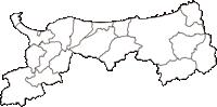 鳥取県(とっとりけん)の白地図無料ダウンロード